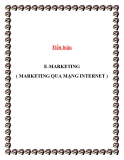 Tiểu luận: E- Marketing (Marketing qua Internet)