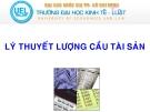 Bài giảng Tài chính tiền tệ: Bài 3