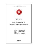 Tiểu luận: Một số bài học từ phong cách lãnh đạo của người Nhật