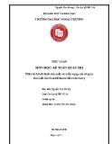 Tiểu luận: Phân tích tình hình sản xuất và triển vọng của công ty sản xuất bia South Dakota Microbrewery