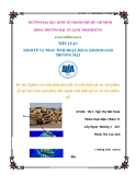 Tiểu luận: Nghiên cứu và đề xuất giải pháp đẩy mạnh xuất khẩu gỗ và các sản phẩm gỗ Việt Nam