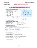 Chuyên đề LTĐH: Chuyên đề 10 - Hình học không gian