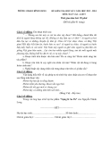 2 Đề kiểm tra HK1 Ngữ văn 9 (2013-2014)  - Kèm đáp án