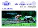 Bài giảng Học hát: Đi cấy - Âm nhạc 6 - GV:L.Q.Vinh