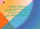 Bài giảng Học hát: Niềm vui của em - Âm nhạc 6 - GV:L.Q.Vinh