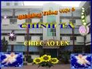 Bài giảng Tiếng Việt 3 tuần 3 bài: Chính tả - Nghe - viết:Chiếc áo len, phân biệt tr/ch, dâu hỏi/ dấu ngã, bảng chữ