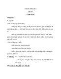 Giáo án bài Tập đọc: Chiếc áo len - Tiếng việt 3 - GV.N.Tấn Tài