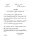 Quyết định 2035/QĐ-UBND năm 2013