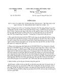 Thông báo 336/TB-VPCP năm 2013