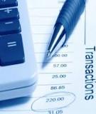 Bài tập ôn Kế toán ngân hàng thương mại