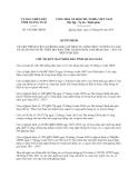 Quyết định 1367/QĐ-UBND năm 2013