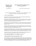 Kế hoạch 22/KH-STTTT năm 2013