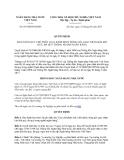 Văn bản hợp nhất 05/VBHN-NHNN năm 2013