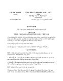 Quyết định 1694/QĐ-CTN năm 2013