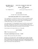 Quyết định 1100/QĐ-BTTTT năm 2013