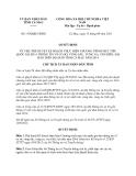 Quyết định 1350/QĐ-UBND năm 2013