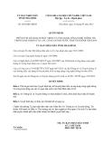 Quyết định 2072/QĐ-UBND năm 2013