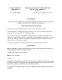 Quyết định 1231/QĐ-UBND năm 2013 tỉnh Yên Bái