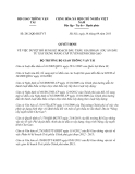 Quyết định 2812/QĐ-BGTVT năm 2013