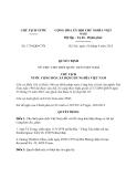 Quyết định 1718/QĐ-CTN năm 2013