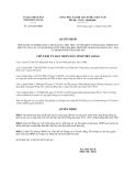 Quyết định 2201/QĐ-UBND năm 2013