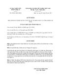 Quyết định 49/2013/QĐ-UBND tỉnh Nghệ An