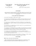 Quyết định 52/2013/QĐ.UBND tỉnh Nghệ An