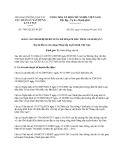 Báo cáo 748/CQLXD-PCĐT năm 2013
