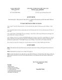 Quyết định 34/2013/QĐ-UBND tỉnh An Giang