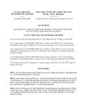Quyết định số 40/2013/QĐ-UBND