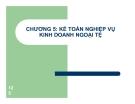 Bài giảng Kế toán ngân hàng thương mại: Chương 5
