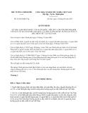 Quyết định 53/2013/QĐ-TTg