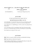 Quyết định 2863/QĐ-BGTVT năm 2013