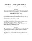 Quyết định 445/2013/QĐ-UBND