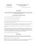 Quyết định 358/2013/QĐ-UBND