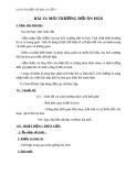 Giáo án Địa lý 7 bài 13: Môi trường đới ôn hòa