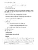 Giáo án Địa lý 7 bài 19: Môi trường hoang mạc