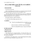 Giáo án Địa lý 7 bài 24: Hoạt động kinh tế của con người ở vùng núi