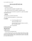 Giáo án Địa lý 7 bài 30: Kinh tế châu Phi