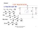 Bài giảng Kỹ thuật điện tử: Chương VI - Lê Thị Kim Anh