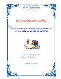 """SKKN: Một số kinh nghiệm về việc triển khai nội dung 5 của phong trào """"Xây dựng trường học thân thiện, học sinh tích cực"""""""