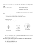 Đề kiểm tra chất lượng đầu năm Hóa 8 (2012 - 2013) trường THCS Vị Thủy - (Kèm Đ.án)