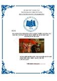 Đề tài: Xây dựng giải pháp bảo tồn và phát triển văn hóa các dân tộc Tây Bắc nhằm phát triển Du lịch Việt Nam giai đoạn 2012 - 2015