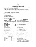 Giáo án Toán 1 chương 4 bài 8: Ôn tập các số đến 100