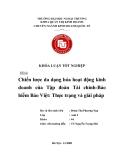 Khóa luận tốt nghiệp: Chiến lược đa dạng hoá hoạt động kinh doanh của tập đoàn tài chính - bảo hiểm Bảo Việt: Thực trạng và giải pháp