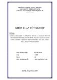 Khóa luận tốt nghiệp: Chất lượng dịch vụ tín dụng và dài hạn đối với thành phần kinh tế ngoài quốc doanh tại ngân hàng công thương Việt Nam chi nhánh Tiên Sơn Bắc Ninh. Thực trạng và giải pháp