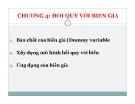 Bài giảng Kinh tế lượng: Chương 4 - Hồi quy với biến giả