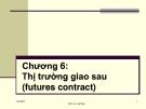 Bài giảng Thị trường giao sau - GV. Hồ Viết Tiến