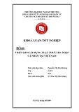 Khóa luận tốt nghiệp: Triển khai áp dụng luật thuế thu nhập cá nhân tại Việt Nam