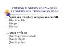 Bài giảng Ngân hàng thương mại: Chương 2 - Trần Phước Huy